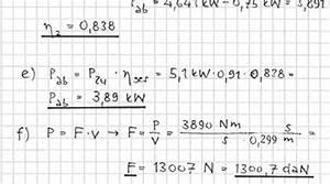 Leistung Eines Motors Berechnen : elektrische leistung 2 tec lehrerfreund ~ Themetempest.com Abrechnung
