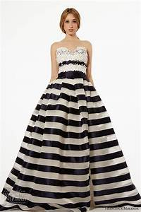 black and white striped wedding dress gown and dress gallery With black and white striped wedding dress
