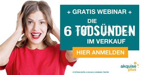 Die 6 Todsünden Im Verkaufsgespräch › Kundenakquise Hamburg