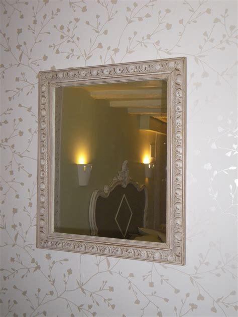 cadre ancien rectangle miroir anjoudeco