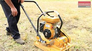 How To Operate A Plate Compactor