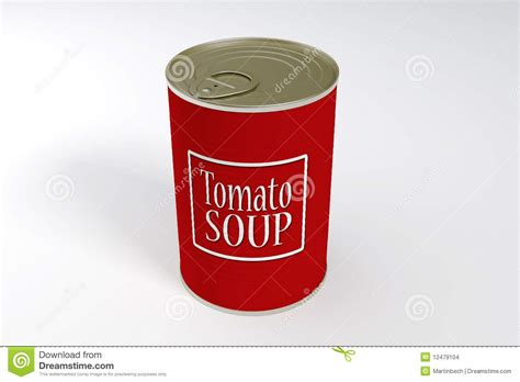 A Can Of Tomato Soup Stock Images