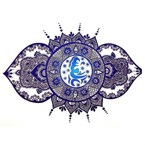 tatouage temporaire mandala