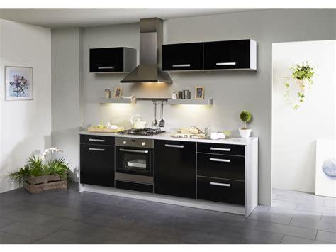 meuble de cuisine but meuble de cuisine noir laque