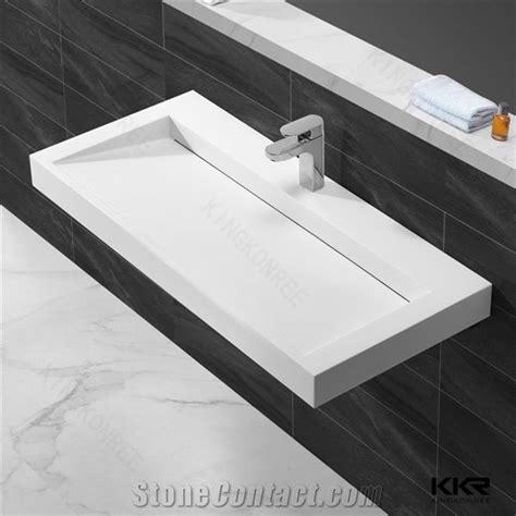 Corian Basin Design by China Supplier Kingkonree Cheap Quality Factory Directly