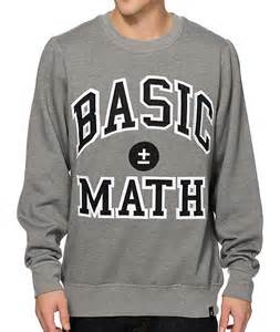 Basic Math Sweatshirt