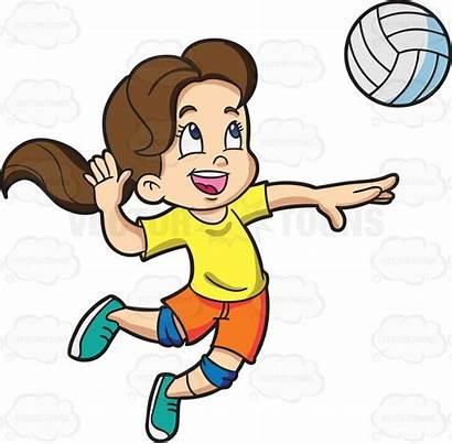 Playing Cartoon Badminton Clipart Children Basketball Vector