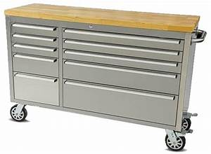 """Thor 55"""" 10-Drawer Rolling Tool Chest Thor Tool Boxes"""