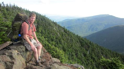 On The Appalachian Trail In New Hampshires Presidential