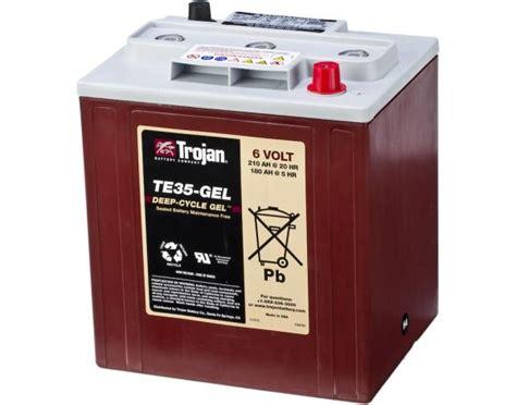 Trojan 8DGEL Deep Cycle Gel Battery . altE