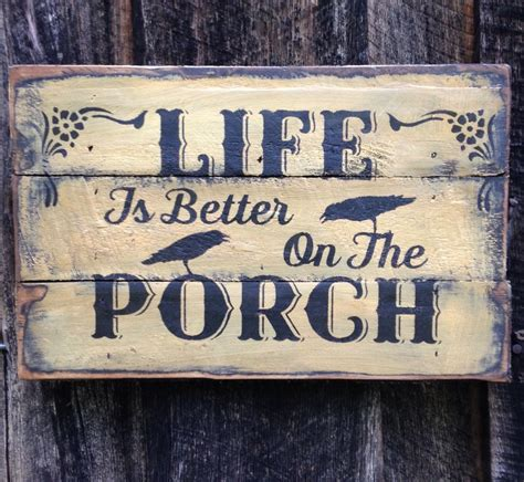 Hand Made Primitive Sign Rustic Country Home
