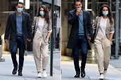 Katie Holmes steps out with Emilio Vitolo Jr. in a blazer ...
