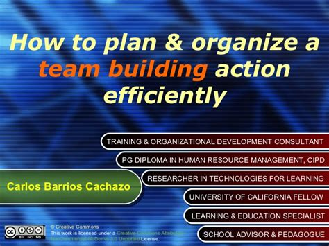 How To Plan & Organize A Team Building Action Efficiently