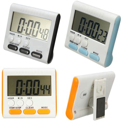 timer cuisine kitchen cooking timer mini lcd digital magnetic alarm