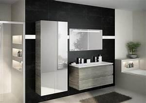 salle de bains design lille With salle de bain design avec miroir salle de bain gris