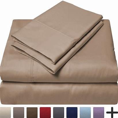 Egyptian Cotton Count Sheet Queen Thread Sateen