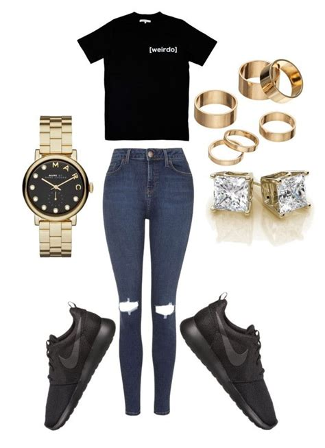 U0026quot;Simple 1u0026quot; by itsqueenb94 on Polyvore featuring Topshop NIKE Illustrated People Marc by Marc ...