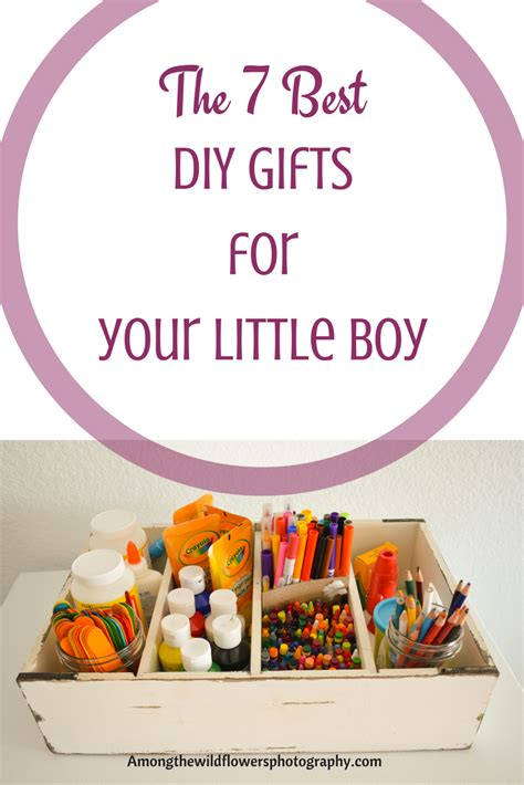 The 7 Best Diy Gifts For Little Boys (and Girls)  At Home With Kids