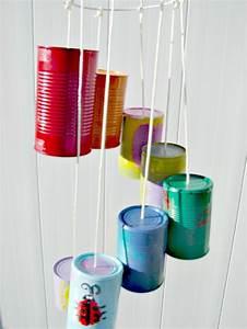 Fabriquer Un Carillon : 13 id es pour r utiliser une bo te de conserve vide ~ Melissatoandfro.com Idées de Décoration