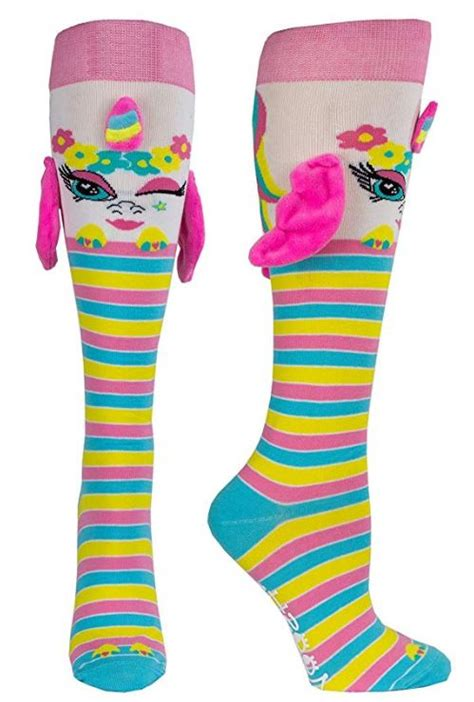 quirky finds  unicorn socks   ears