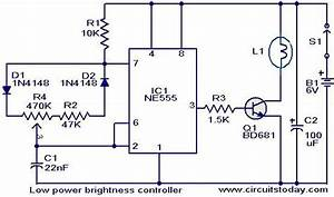 Brightness Controller For Low Power Lamps