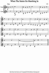 When The Saints Go Marching In Sheet Music For Violin Duet
