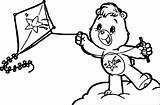 Kite Coloring Care Bears Lot Drawing Adventures Outline Cartoon Pages Colouring Getdrawings Wecoloringpage sketch template