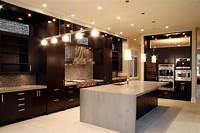 dark kitchen cabinets The Charm in Dark Kitchen Cabinets