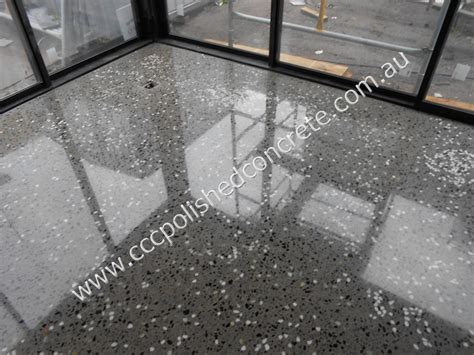 CCC Polished Concrete   Eco House Port Melbourne