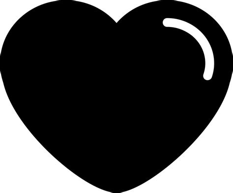 Ready to be used in web design, mobile apps and presentations. Heart Shape Rounded Edges Variant With White Details Svg ...