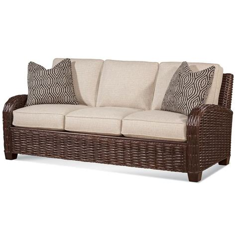 Wicker Sofa Sleeper by Braxton Culler Copenhagen Sleeper Sofa 1906 015 Rattan