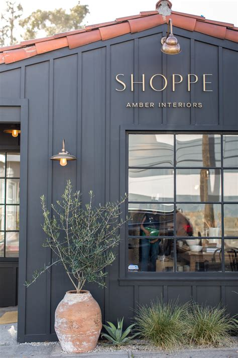 shoppe pacific palisades opening party amber interiors