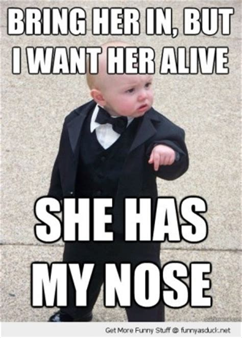 Mafia Baby Meme - baby godfather quotes quotesgram