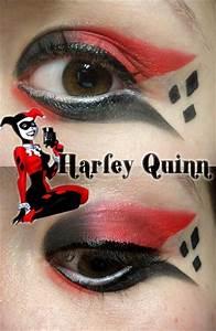 Harley Quinn Makeup by Steffmiesterx13 on DeviantArt
