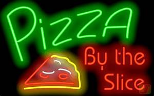 Contact Info Template Pizza By The Slice Neon Sign Fpz 40 02 Jantec Neon