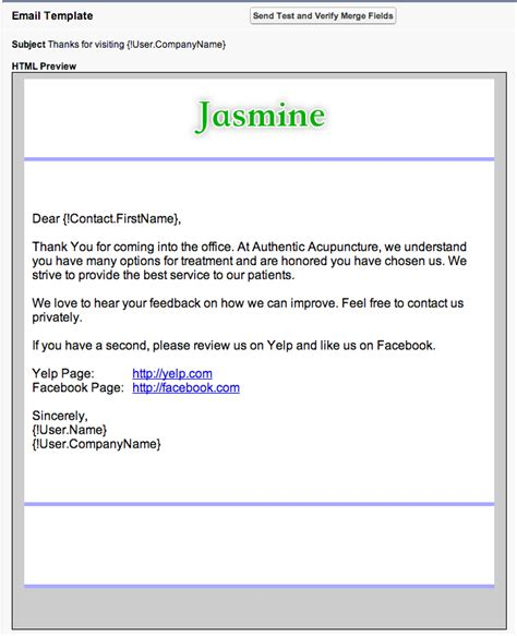 Follow Up Email Template Tools To Grow Your Acupuncture Practice Software