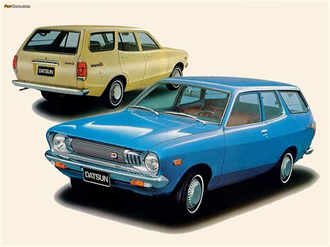 Datsun Sunny Van (B210) 1973–77 wallpapers (1280x960)