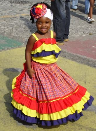Beautiful jamaican woman dressed   Beautiful Afro-Costa Rican girl in traditional dress at 2007 ...