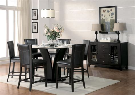 homelegance daisy pc  counter height table set