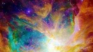 Rainbow Nebula Wallpaper by Dr-Pen on DeviantArt