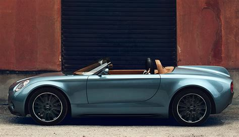 Electric Mini Roadster Concept Hints At Future Flagship