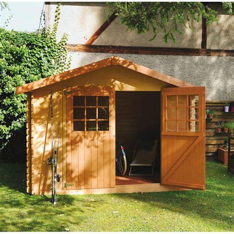 abri en bois abri de jardin en bois 6 75 m 178 ep 28 mm flodova plantes et jardins