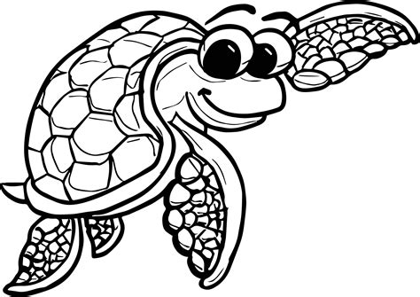 tortoise color underwater tortoise turtle coloring page wecoloringpage