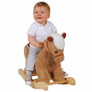 Cheval à Bascule Bebe : jouets des bois cheval bascule pour b b histoire d 39 ours jouets des bois ~ Teatrodelosmanantiales.com Idées de Décoration