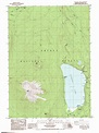 Diamond Lake topographic map, OR - USGS Topo Quad 43122b2