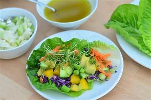 Salat Selber Anbauen : bunte salat wraps vitalstoffkick zum selber zusammenstellen vollwert blog ~ Markanthonyermac.com Haus und Dekorationen