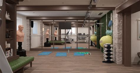Gym Interior : Home Gym Interior Design Tips