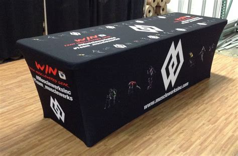 17 Best Ideas About Trade Show Table Covers On Pinterest