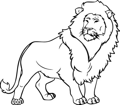 lion coloring pages wecoloringpagecom