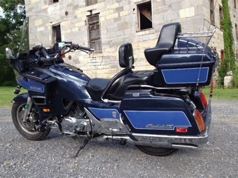 Big Suzuki Cavalcade Touring Motorcycle, V4 Engine, Shaft